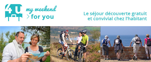My weekend for you réseau d'hospitalité cyclotourisme