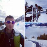 Weekend de Mathieu - Ski rando ou ski dans le Valais