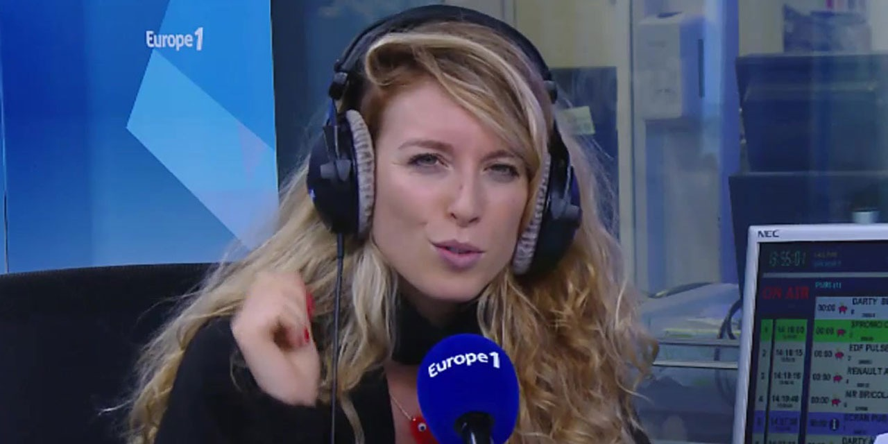 My weekend for you Europe 1 Cyrielle Hariel