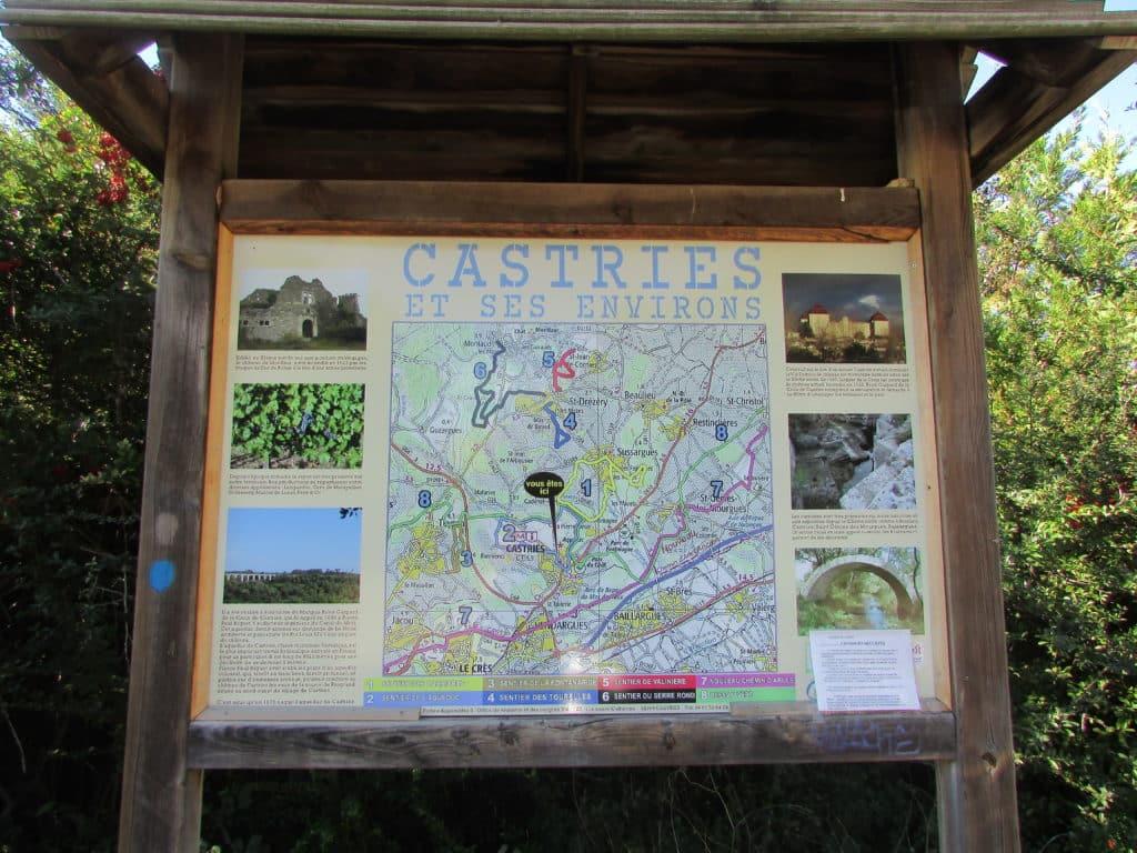 Weekend Emma vous invite à Saint Just (34400) pour découvrir Castries.