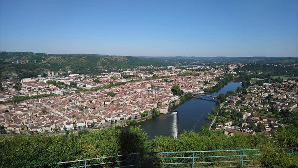 Weekend Gérard et Sylvie vous feront découvrir la vallée du Lot et Cahors en moto