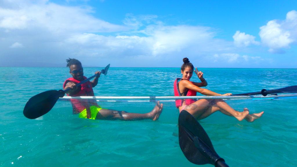 Weekend Naomi et Laurent vous invitent à la découverte des îles paradisiaques de l'archipel Guadeloupéen !