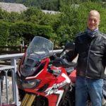 Weekend de Hervé - Hervé vous invite pour visiter le sud de la région Rhône-Alpes en moto comme passagère.