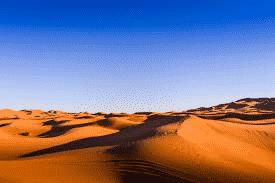 dans le désert du maroc