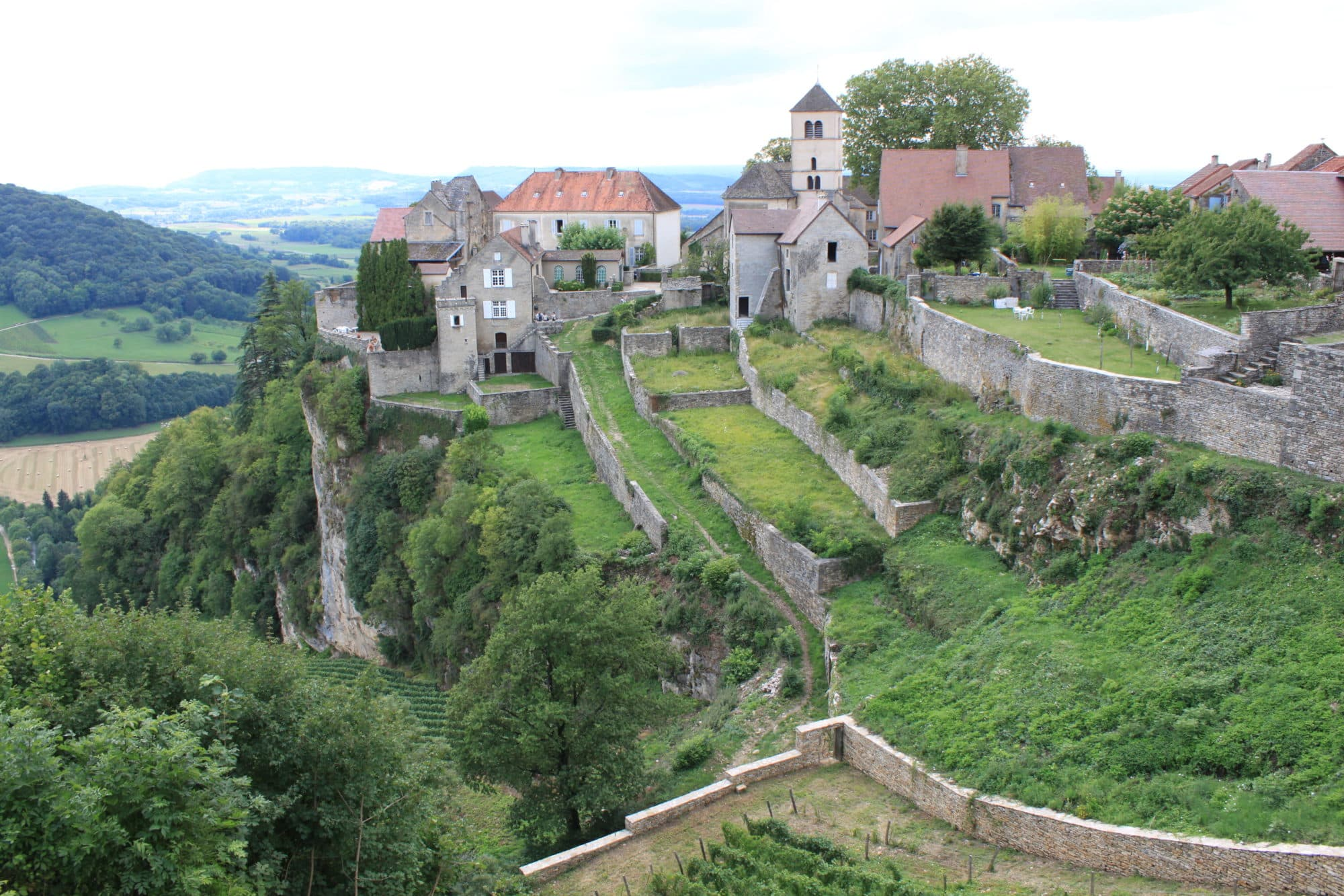 4 plus beaux villages de France Comté