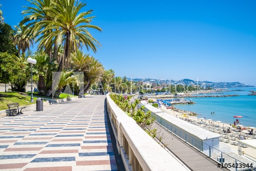 les plages de Sanremo