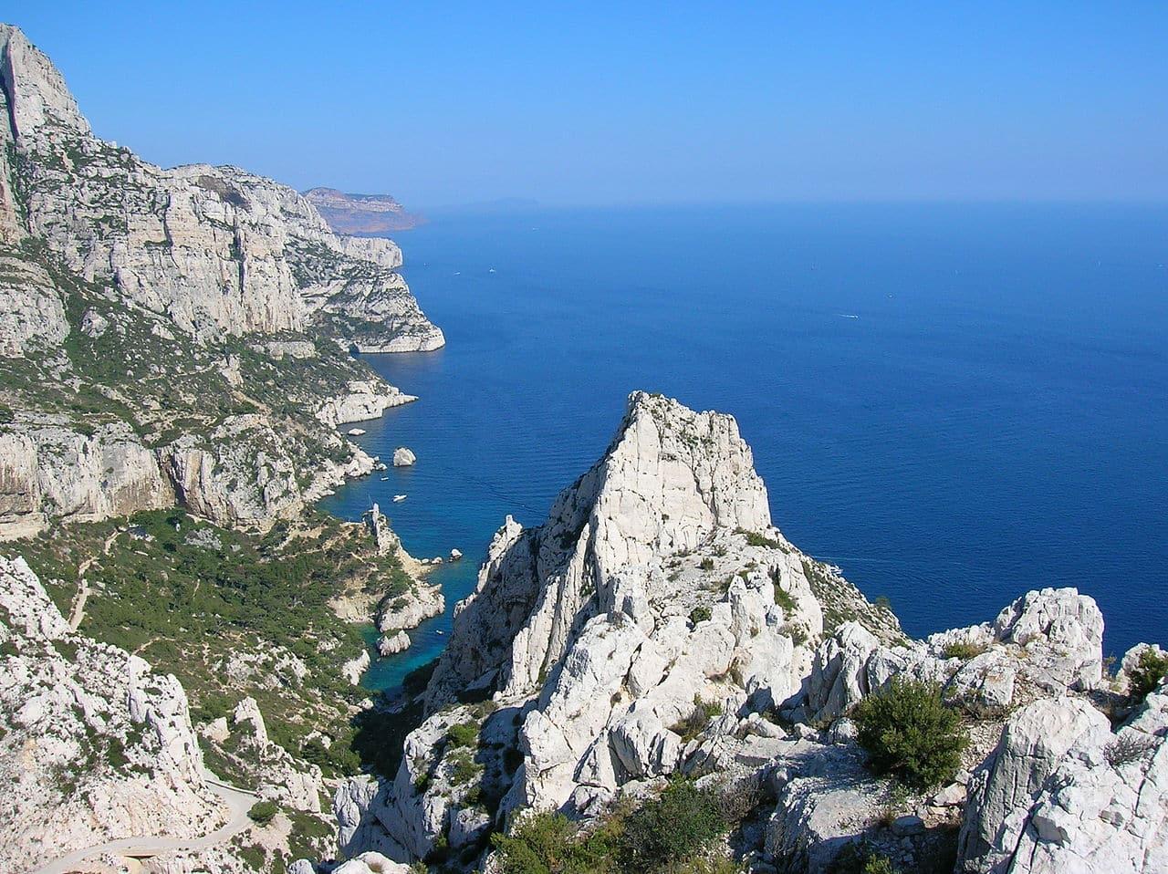 Plongée dans les Calanques de Marseille