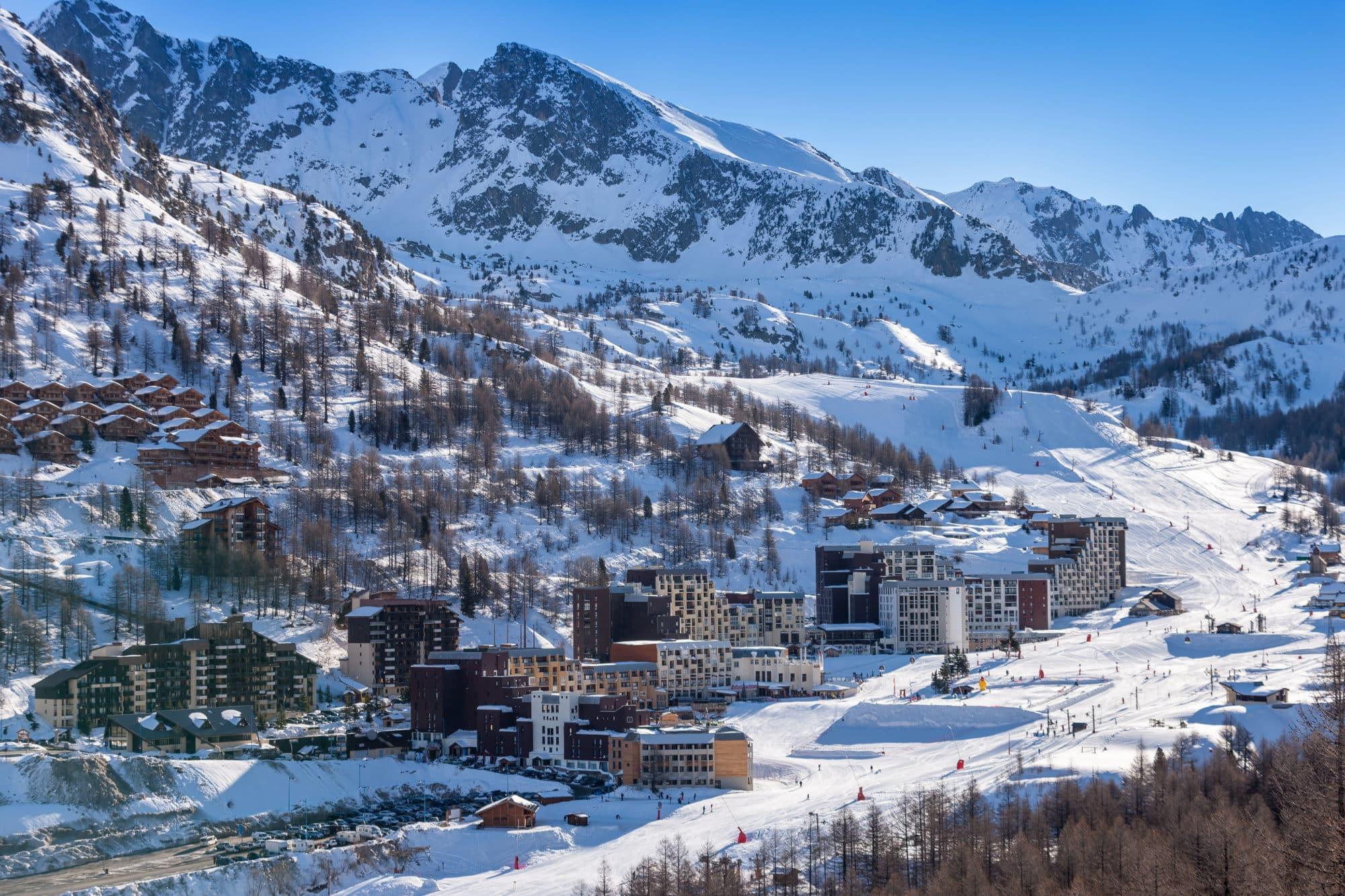 le ski sur la cote d'azur