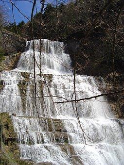 cascades jurassiennes du Hérisson (1