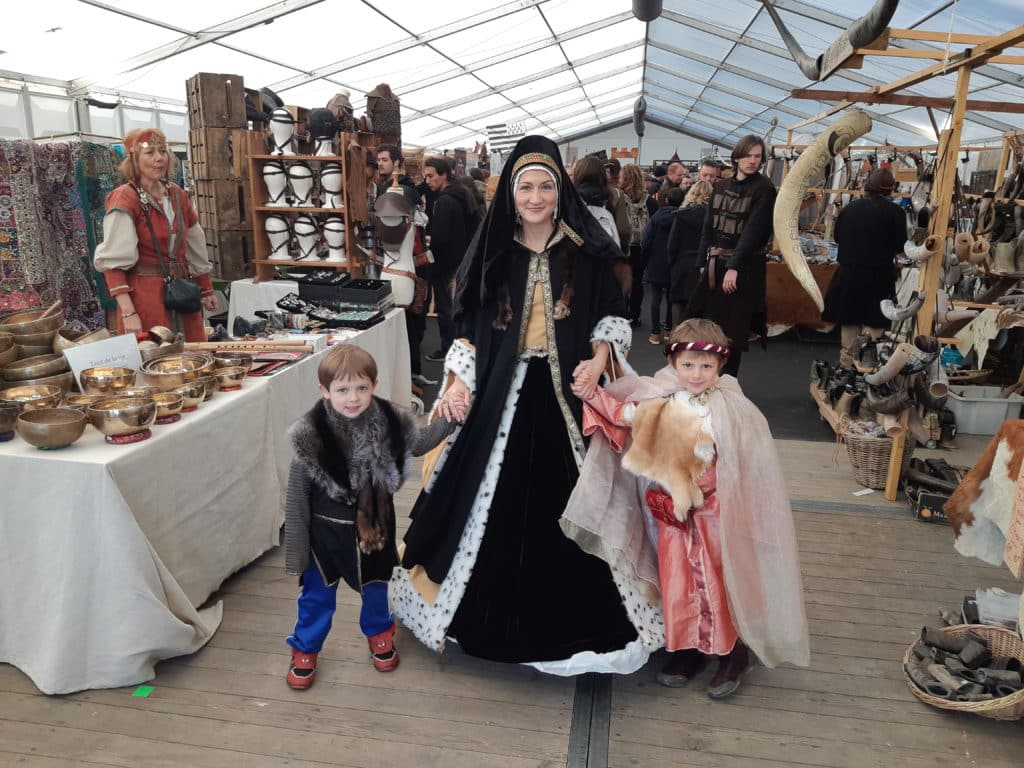 Weekend Olivier et Anne Lise vous emmènent aux fêtes médiévales !!
