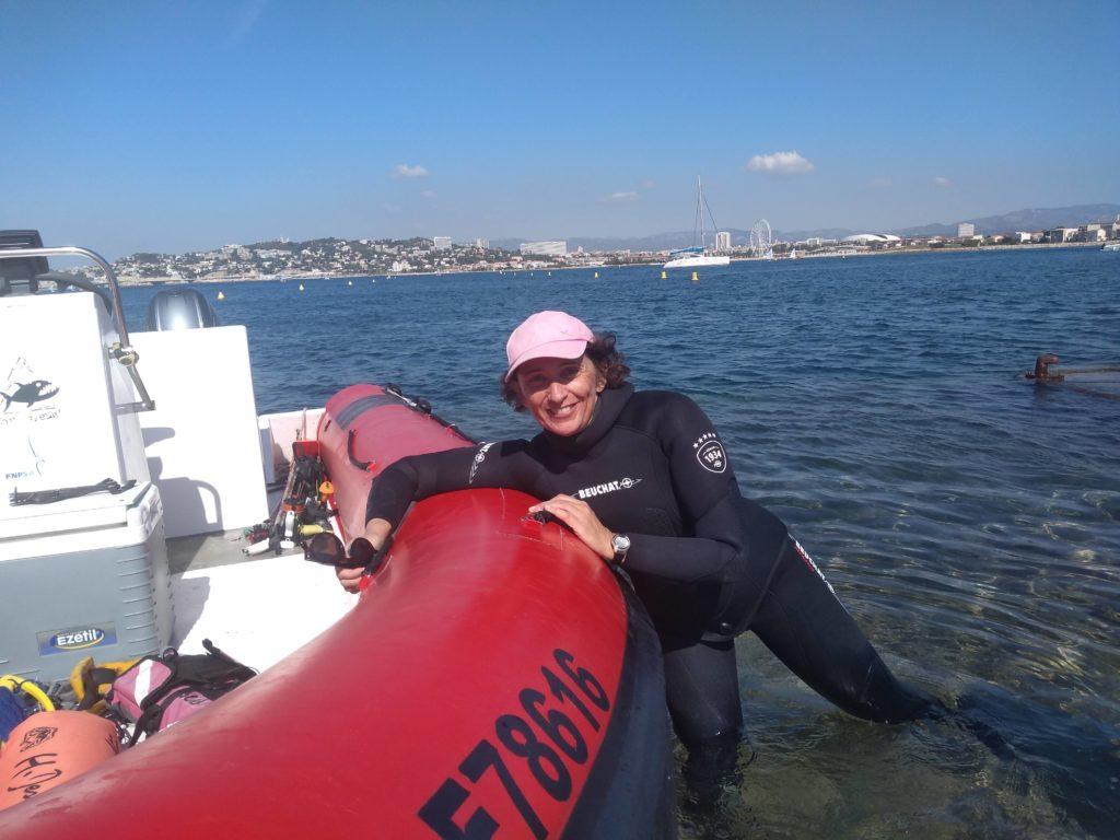 Weekend Apnée/CSM à Hyères les Palmiers avec Sylviane